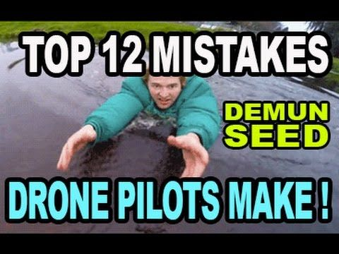 """12 MISTAKES that """"Drone Noobs Make"""" - Demunseed"""