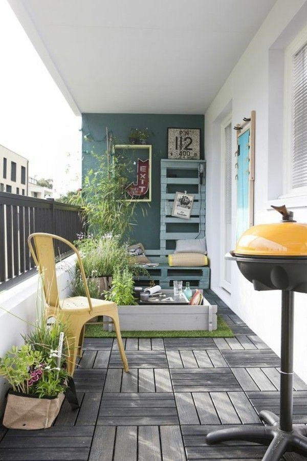 50 Ideen, Wie Man Die Kleine Terrasse Gestalten Kann | Balkon   Pflanzen U0026  Deko | Pinterest | Balconies, Tiny Balcony And Patios