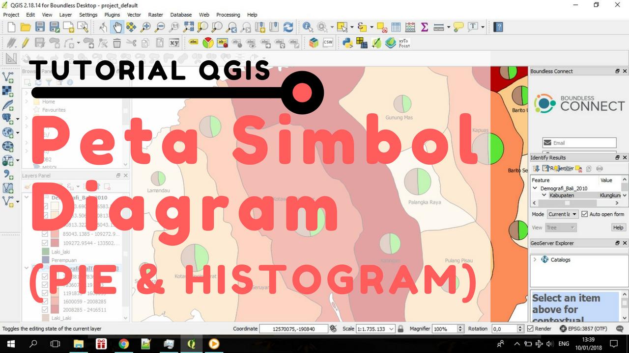 Tutorial qgis cara membuat peta simbol diagram lingkaranpie tutorial qgis cara membuat peta simbol diagram lingkaranpie histogram ccuart Images