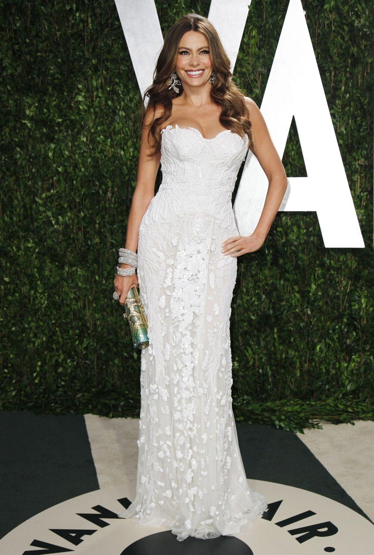 Sofia Vergara Beautiful gowns, Vanity fair oscar party