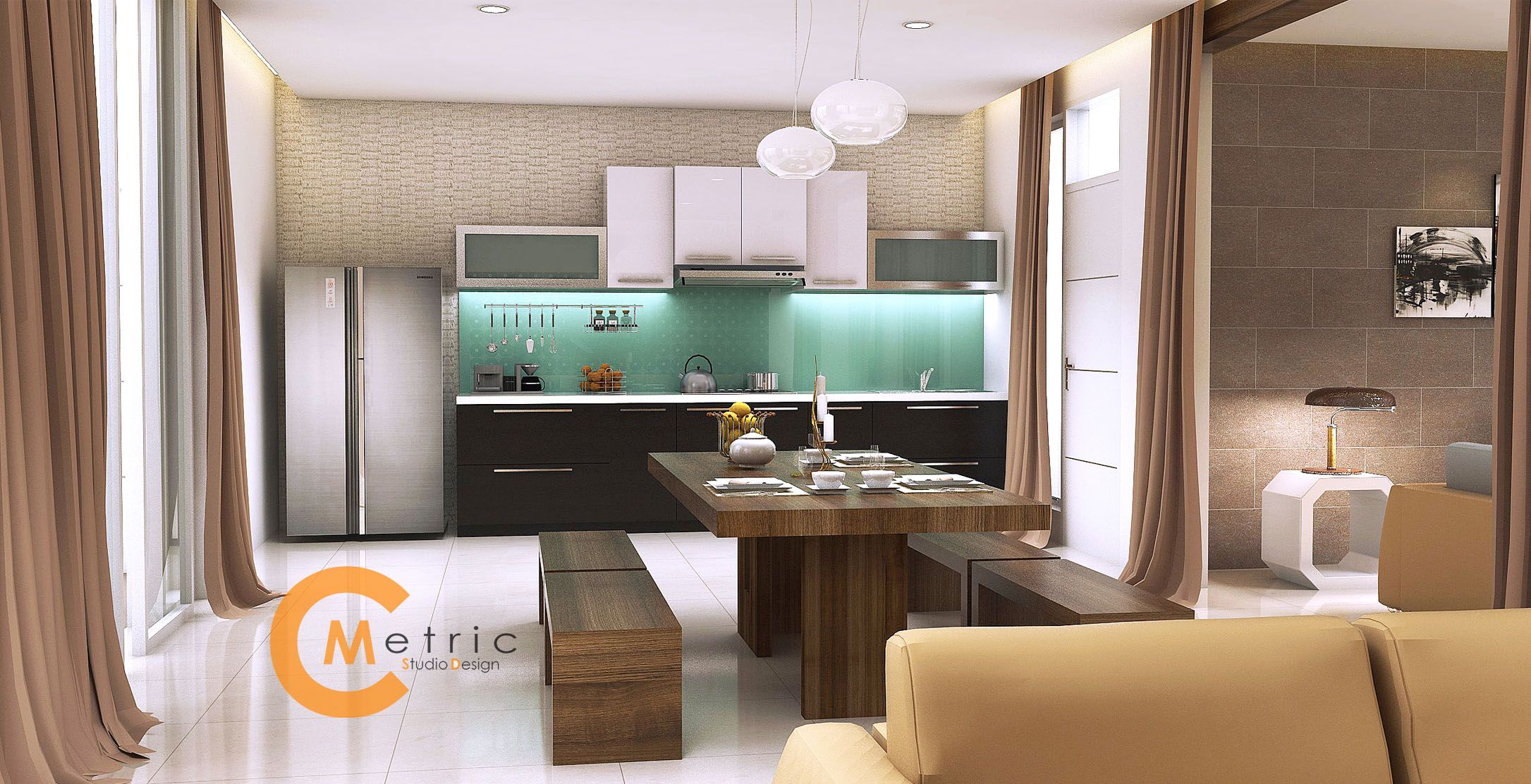 Jasa 3d Model Interior Furniture Desain Gambar Arsitekture Apartemen Kitchen Set Mebel Dan Animasi