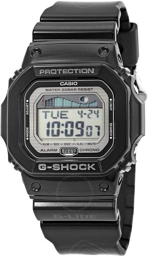 f4dc0d10436 Casio G-Lide Alarm World Time Men s Digital Watch