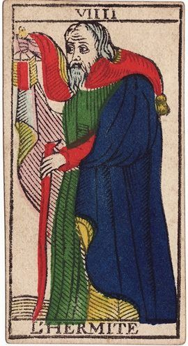 Image result for hermit tarot conver