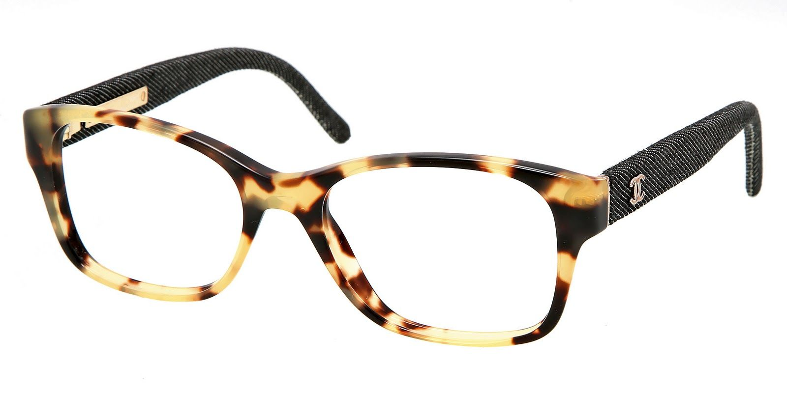 Thick Frame Chanel Eyewear Optical | Chanel Tortoise Shell ...