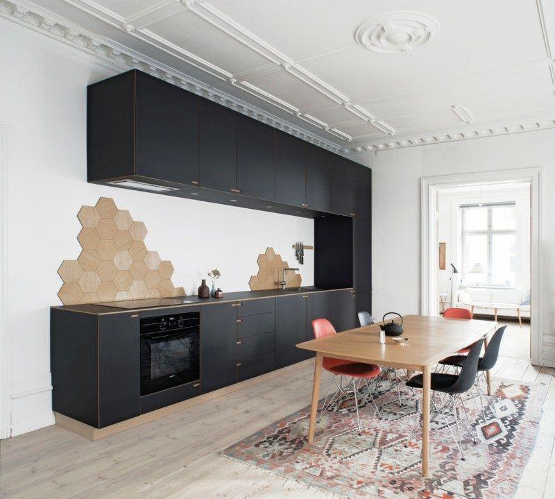 Küchenrückwand Ideen und coole Tipps - fliesen für küchenwand