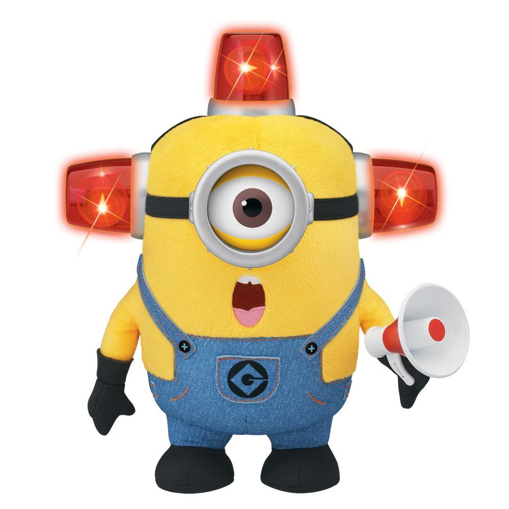 Moi moche et m chant bee do minion pompier peluche - Minion pompier ...