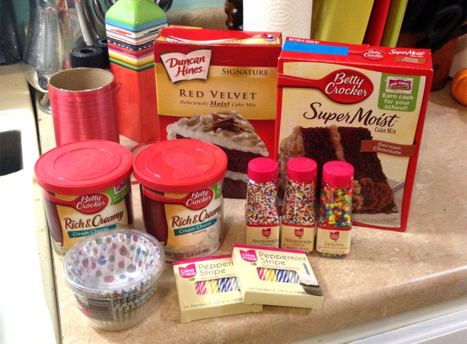 Boxed cake mix recipes for cupcakes