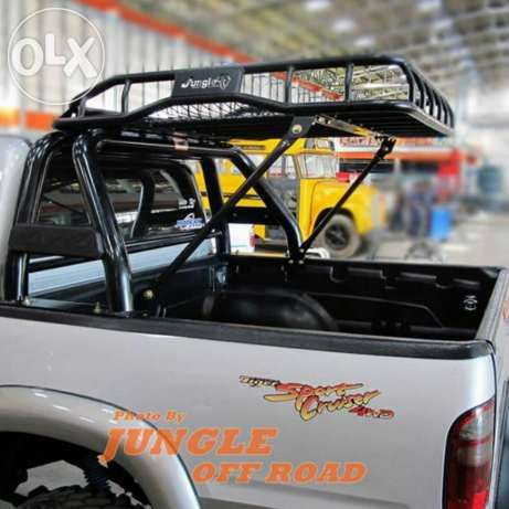 Roof Rack With Rollbar Google Search Yota Roof Rack