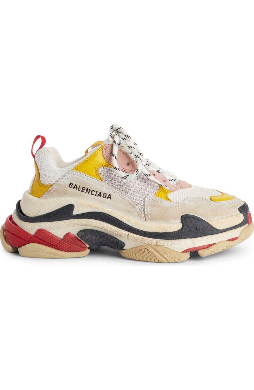 d26b9cd69e20 Balenciaga Triple S Low Top Sneaker (Women)