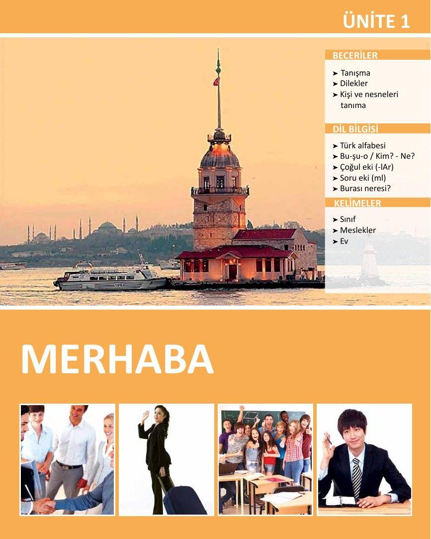 Istanbul Yabancilar Icin Turkce Ders Kitabi A1 Pdf Istanbul Kitap Turkce