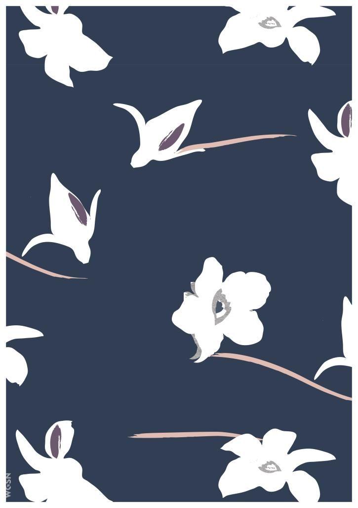 Estampados y gráficos de mujeres O/I 17/18: Florales personalizados - Diseños integrales