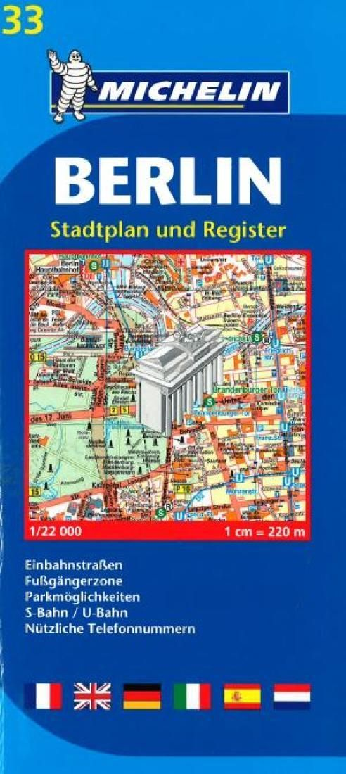 Michelin Map Of Germany.Berlin Germany 33 By Michelin Maps And Guides Products Berlin