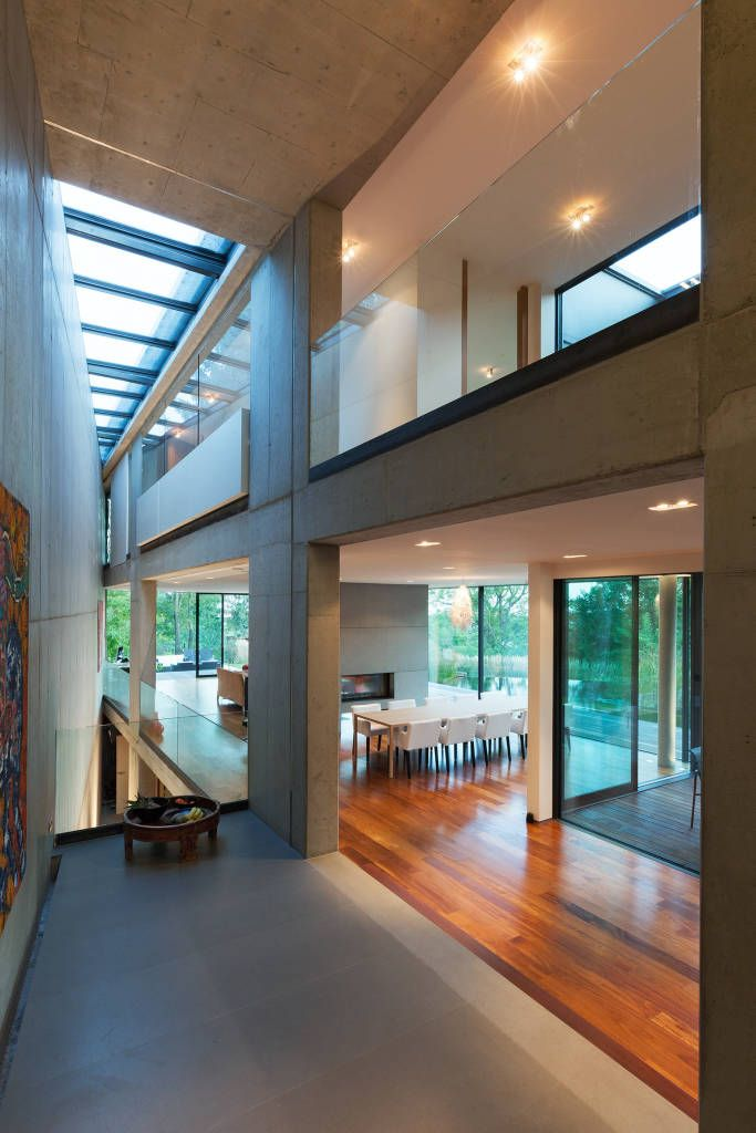 Minimalistische Wohnzimmer Bilder Black Pearl - architekt wohnzimmer