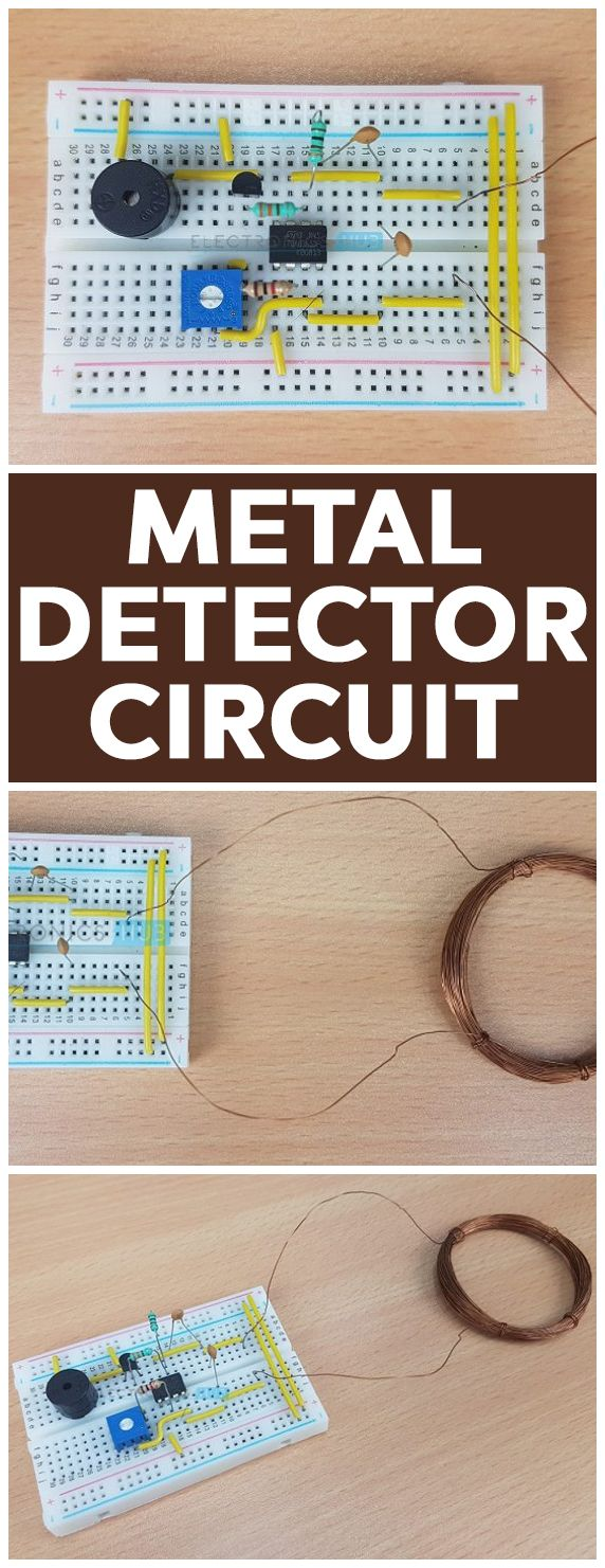 Metal Detector Circuit Diagram And Working Pinterest Is A Very Common Device That Used For Checking Persons Luggage Or Bags In Shopping Malls Hotels Cinema Halls Etc To Ensure