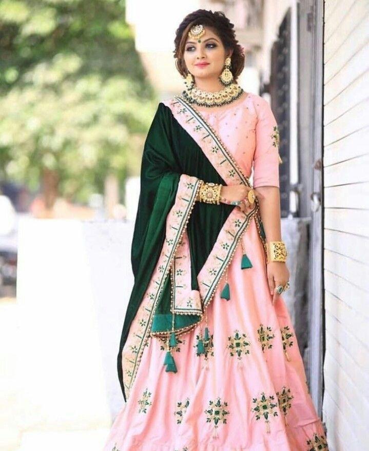 Pinterest: @cutipieanu | Indian wedding outfits, Lehnga dress, Lehnga  designs