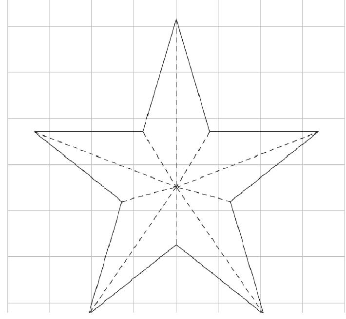 Como hacer una estrella navide a cositasconmesh nadal - Plantilla estrella navidad ...