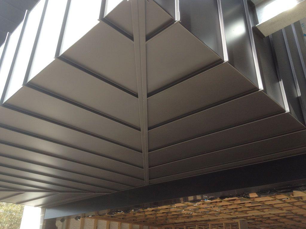 Aluminum Cladding Standing Seam Corner Detail Google Search Aluminium Cladding Cladding Panels Wall Cladding