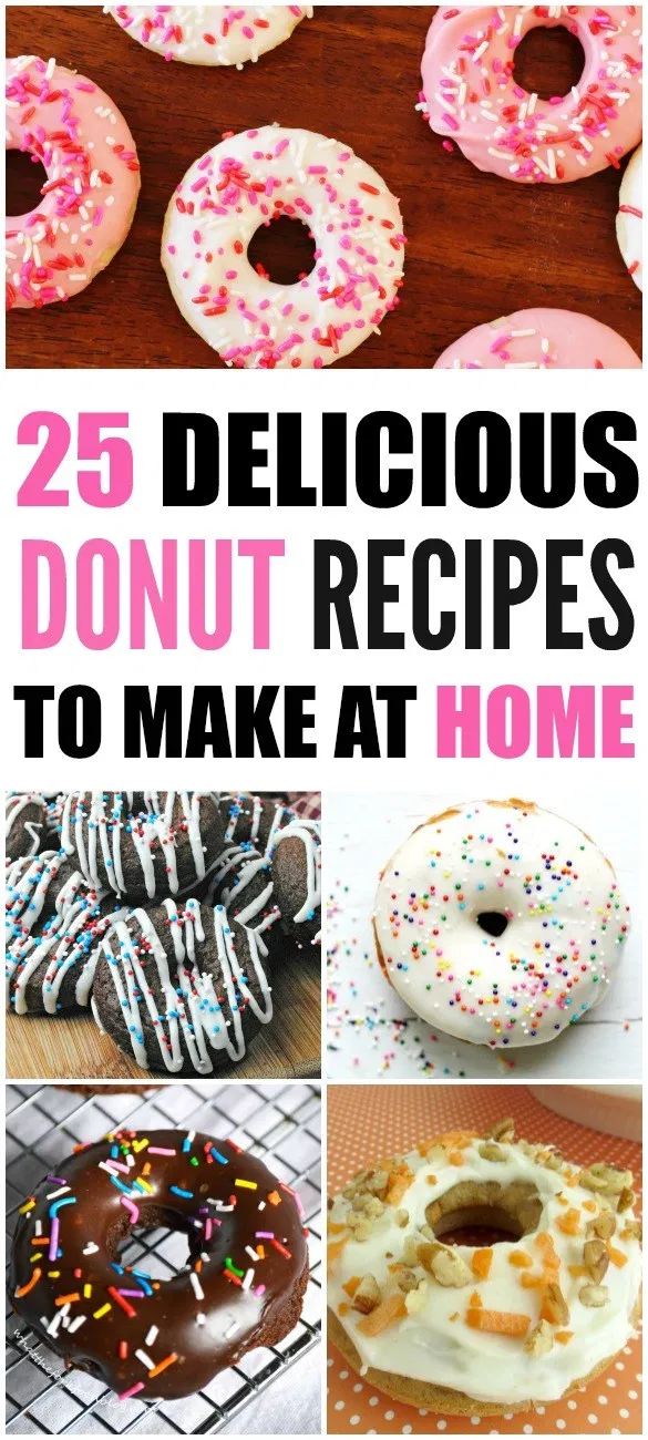 45 Delicious Homemade Donuts to Make at Home - Momma Lew