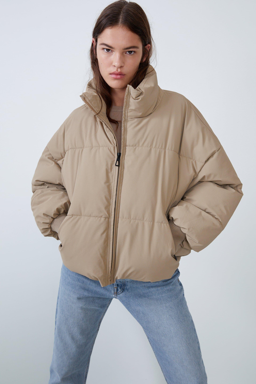 Oversized Puffer Jacket Jackets Woman Zara United States Jackets Oversized Puffer Jacket Puffer Jackets [ 2880 x 1920 Pixel ]