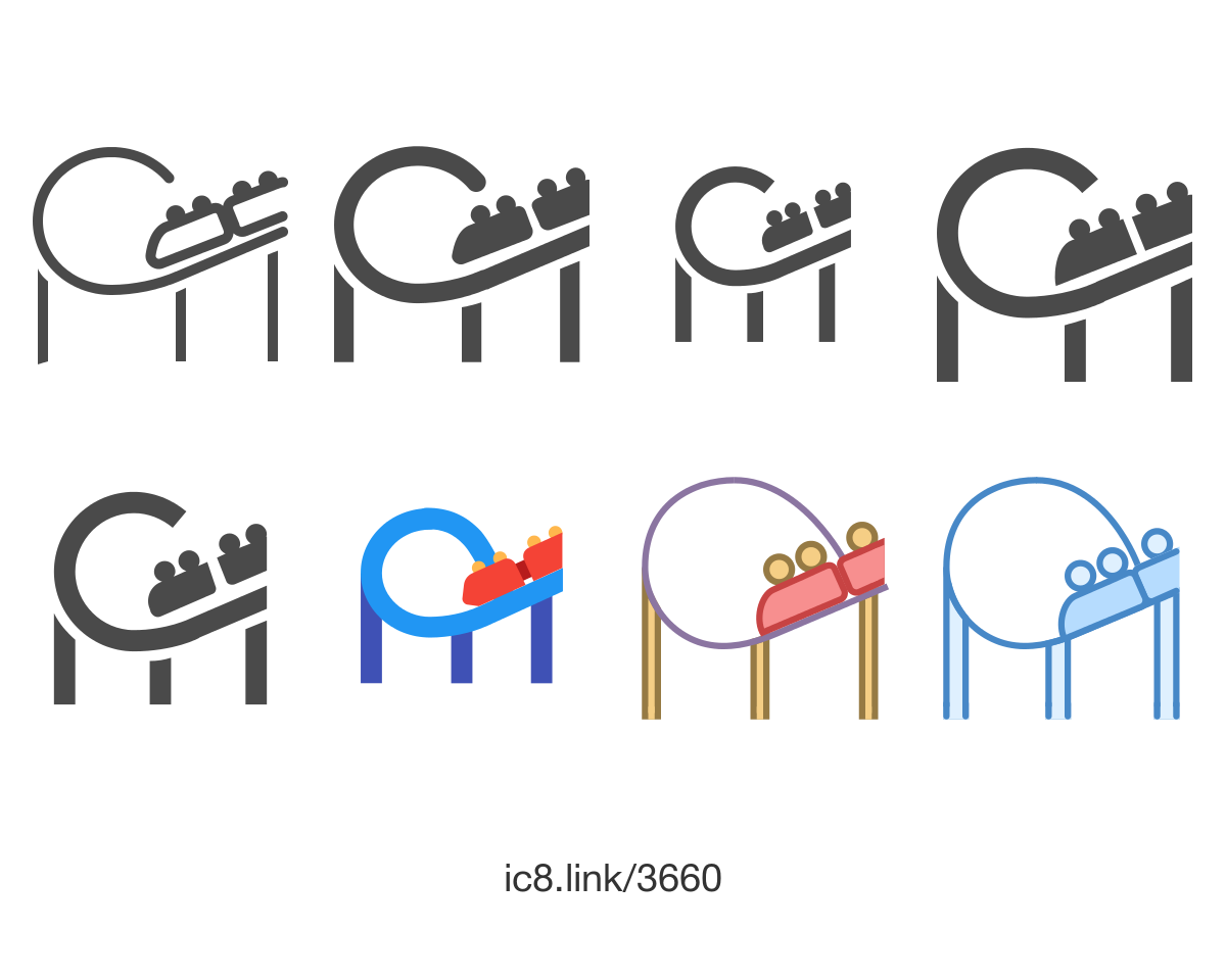 Free Flat Roller Coaster Icon Of Ios Glyphs Available For Download In Png Svg And As A Font Icons D Roller Coaster Coasters Logo Roller Coaster Drawing