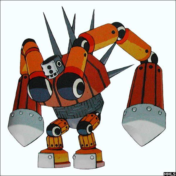 Mega Man Legends Reaverbot 4