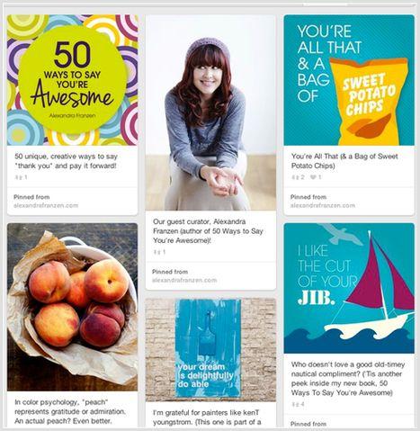 5 Pinterest Marketing Tactics That Produce Big Results | Social Media Bites! | Scoop.it