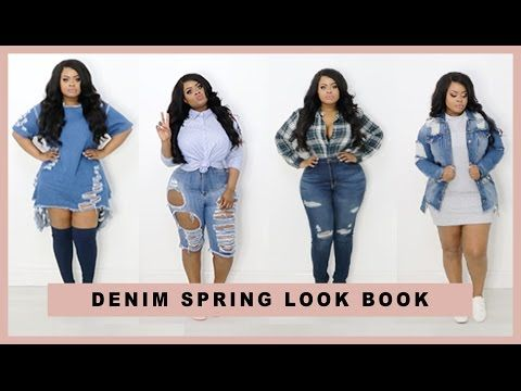 7792c4091d Plus size | Curvy Girl Denim Spring Lookbook FT. Fashion Nova | Edee Beau -  YouTube
