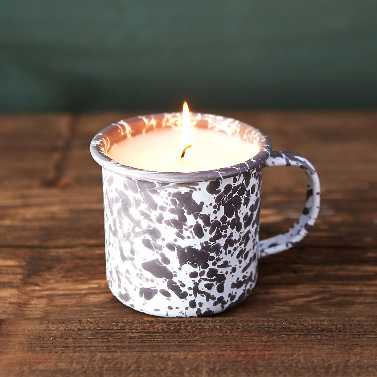 Soy Candle Botanical Candle Vintage Mug Candle Pomegranate Cider Scented Crystal Candle Natural Candle Vintage Candle
