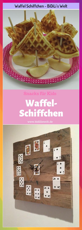 Waffel Schiffchen Bidili S Welt Bidilis Schiffchen Waffel Welt In 2020 Snacks Finger Foods Food