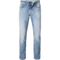 Photo of Fhp denim bukser herrer, bomullsstrekk, blå
