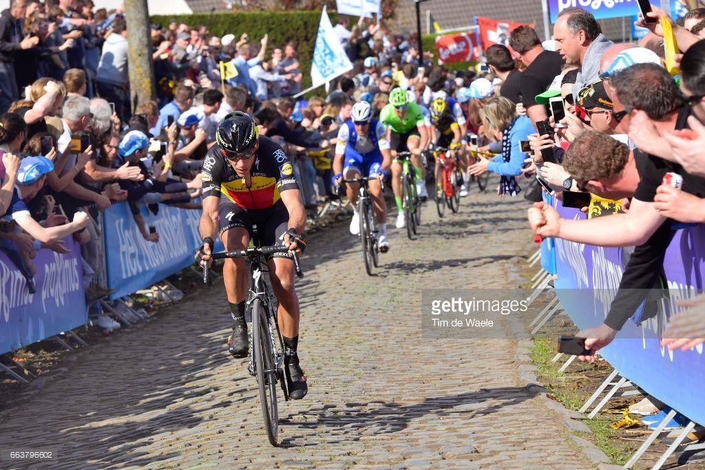 #RVV #UCIWT 101th Tour of Flanders 2017 / Men Philippe GILBERT (BEL)/ Tom BOONEN (BEL)/ Dylan VAN BAARLE (NED)/ Oude Kwaremont / Antwerpen - Oudenaarde (260Km)/ Ronde van Vlaanderen / RVV /