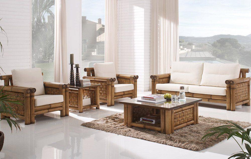 Bamboo Sunroom Furniture Set  Diy Living Room Tv Living Rooms Gorgeous Furniture Arrangement Living Room Decorating Inspiration