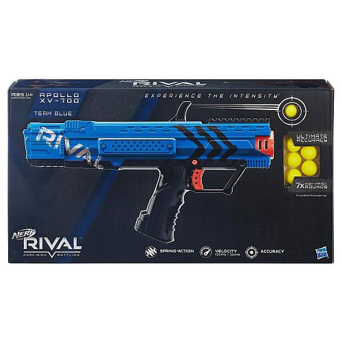 The Nerf Rival Apollo Blaster is one of two new blasters from the new