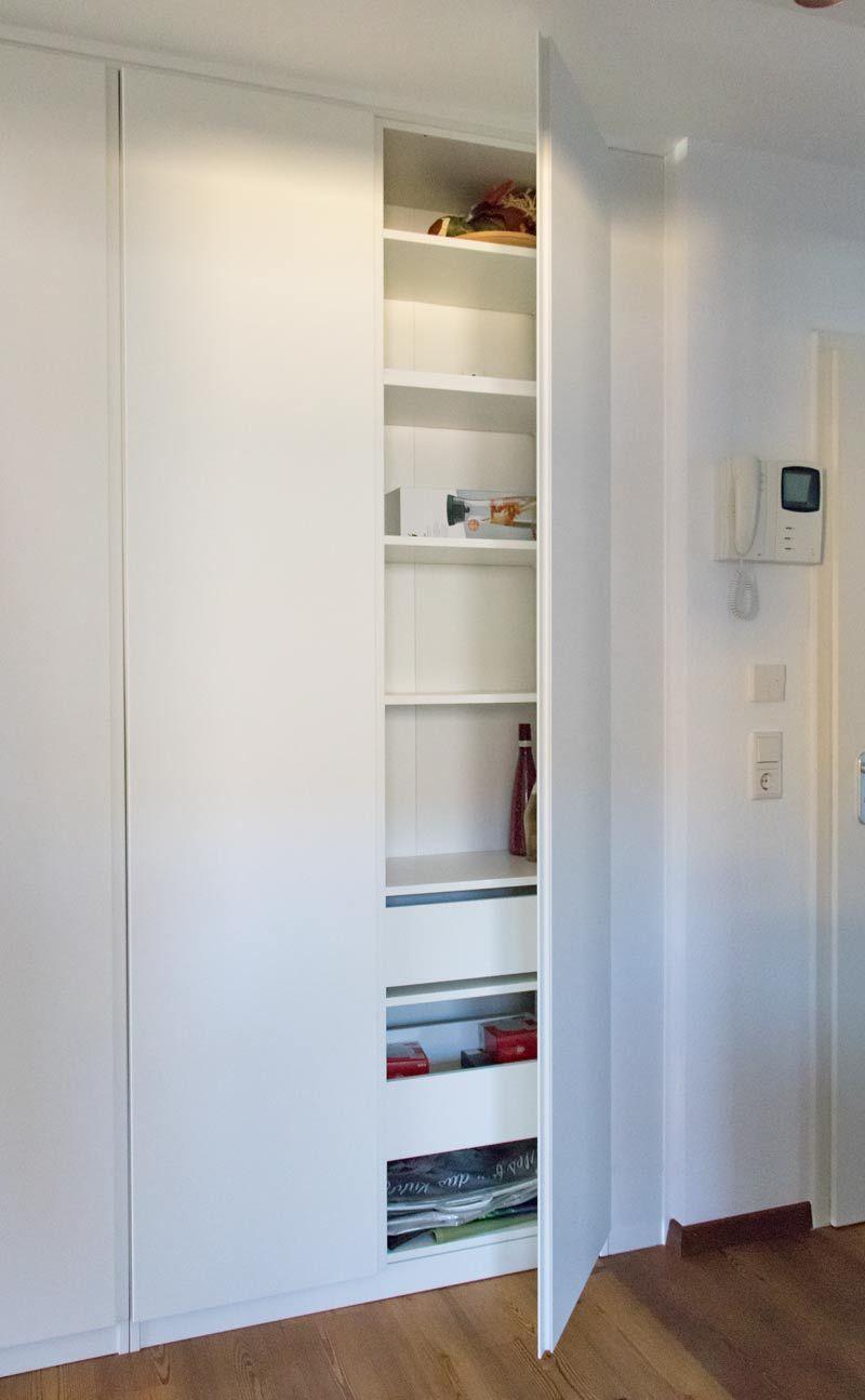 PAX als Einbauschrank – So einfach baut Ihr IKEA PAX als Flurschrank ein