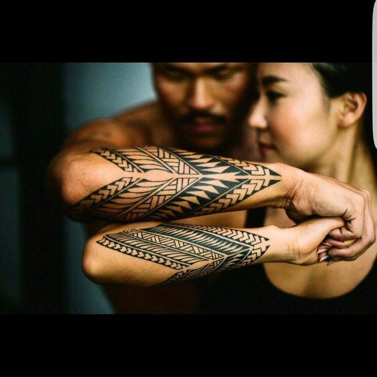 Unterarm-Tattoos für Paare im Tribal Style  #paar… – #ethnique #für #im #paar #Paare