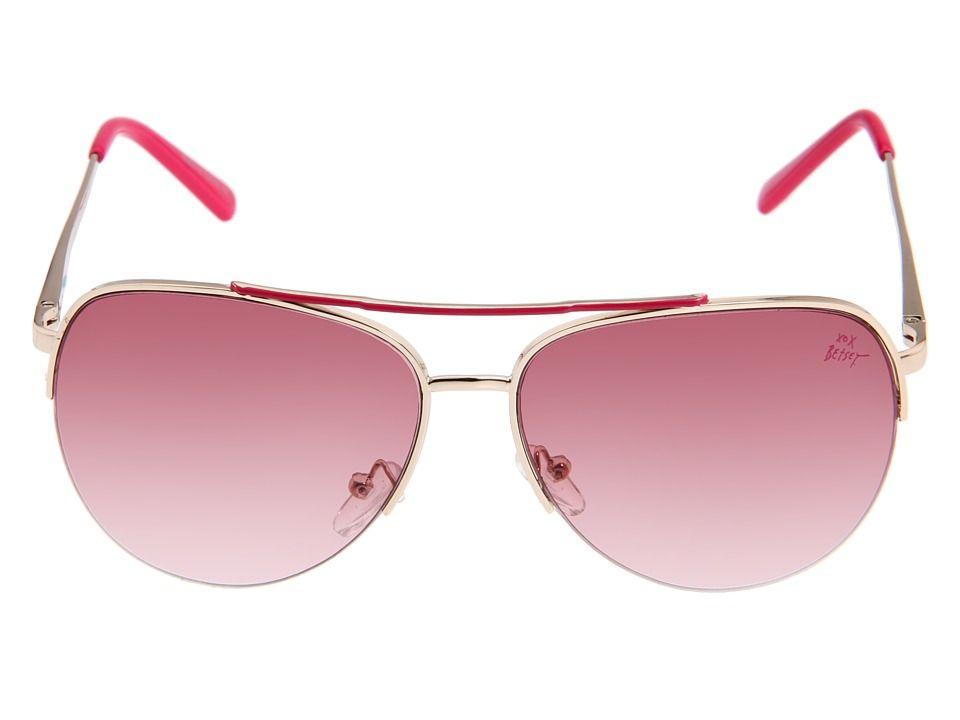 Betsey Johnson Pink Aviators @synvansweete | My Style | Pinterest ...