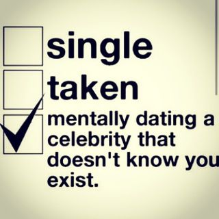 Celebrity Idea Mentally I A Dating That No Exist Has