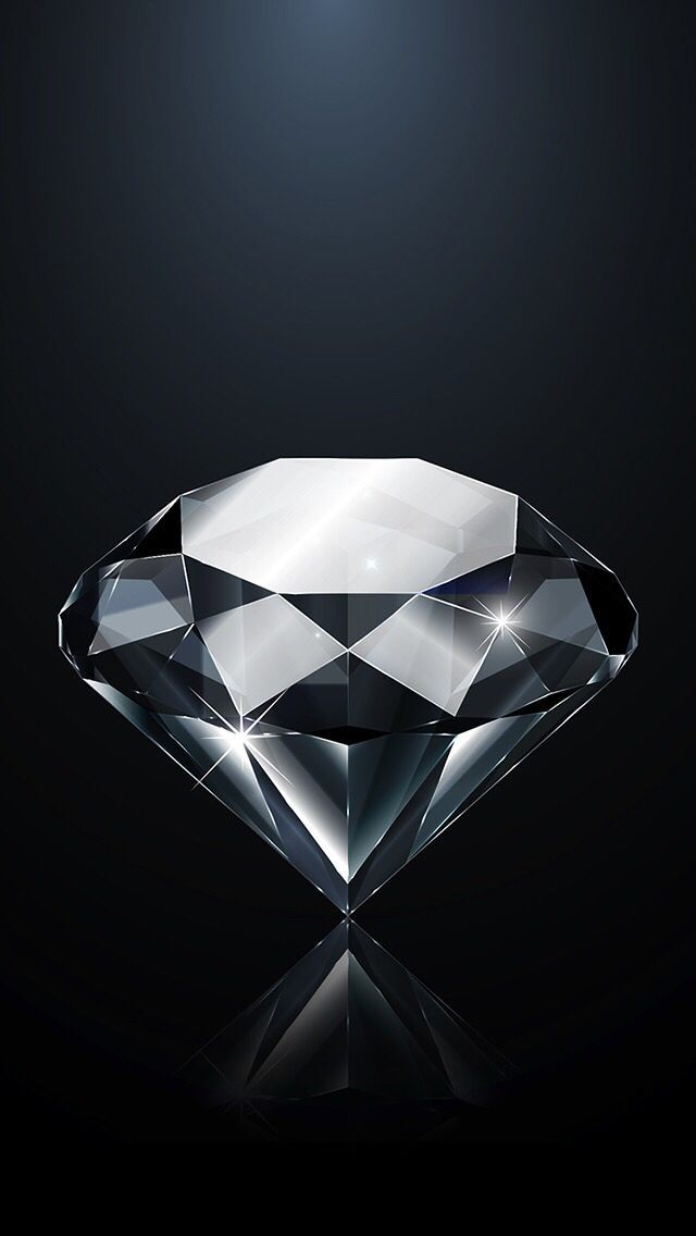Iphone Wallpaper Diamond Diamond Wallpaper Iphone Black