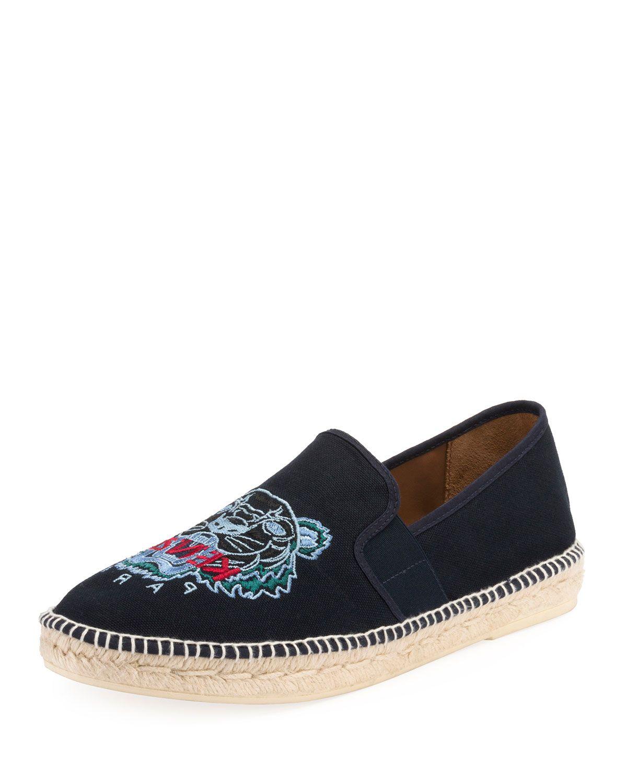 8566cd014c KENZO MEN'S ELASTIC TIGER ESPADRILLES. #kenzo #shoes # | Kenzo ...