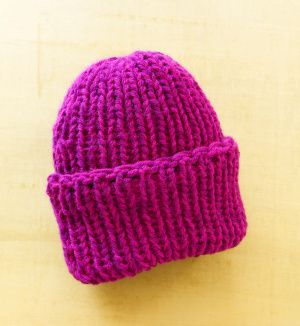Loom Double Knit Hat | Loom knitting patterns, Round loom ...