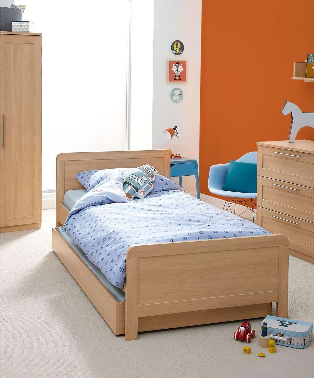 Rialto Single Bed With Sleepover Trundle Including 2 Mattresses   Furniture    Mamas U0026 Papas