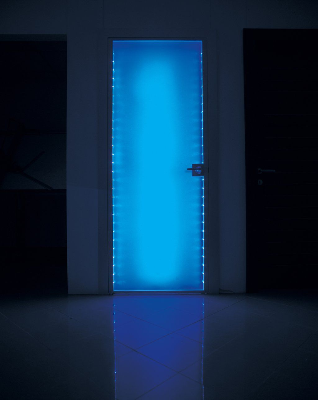 Plexi Glass Doors : Edge lit led plexiglass door edison project pinterest
