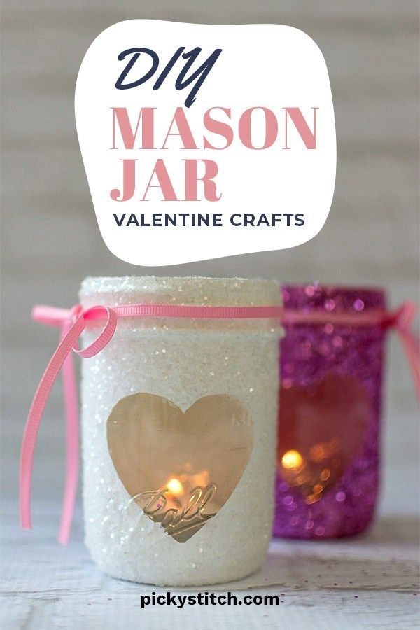 Photo of Heartfelt DIY Valentine Crafts Using Mason Jars For Home Decor