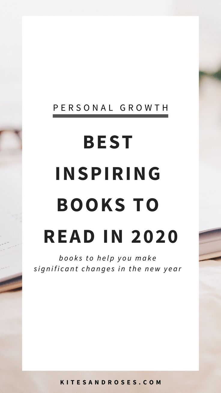 Best Inspiring Books To Read In 2020 - Kites and Roses #bookstoread