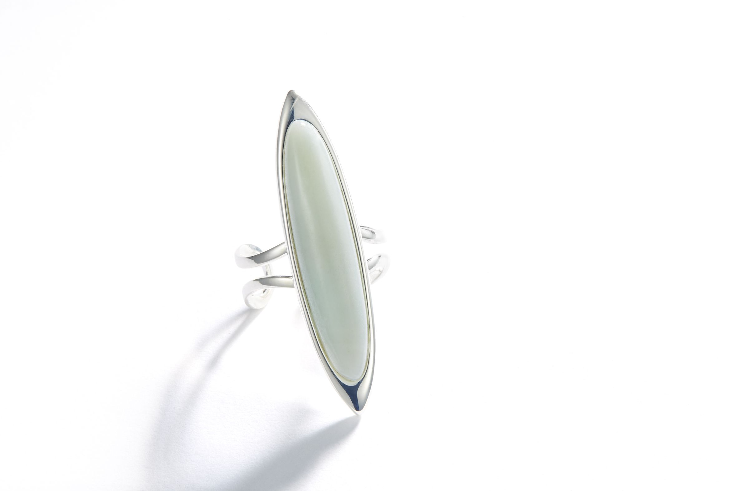 Stunning Chinese Amazonite Diamond Ring £15 www.twisted-designs.co.uk www.facebook.com/twisteddesignscrafts