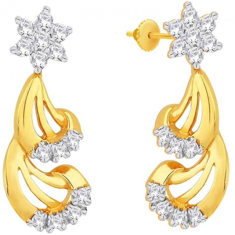 Girls Beautiful Gold Earring jewelry newest Style 2015 (1 ...