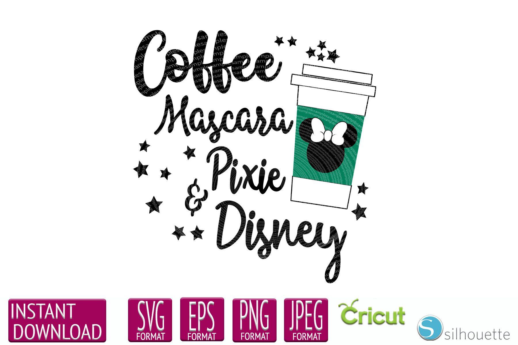 Disney svg, Disney Shirt, Disney and Starbucks, Starbucks