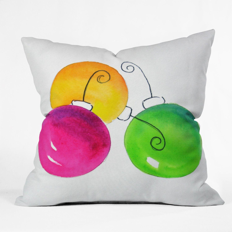 Laura Trevey Holiday Throw Pillow