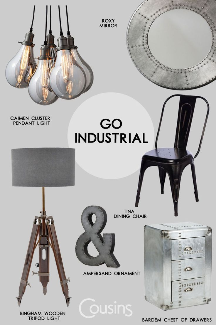Attractive Industrial Furniture Has Recently Come Back Into The Spotlight, Offering A  Rich Nice Design