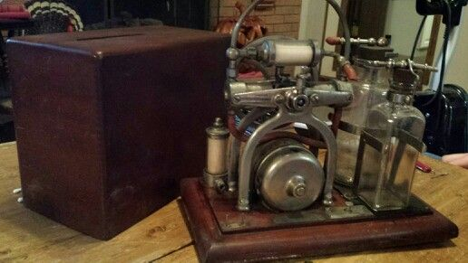 Picked Up This Antique Embalming Machine In Franklin Indiana